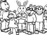 Show Arthur Coloring Page