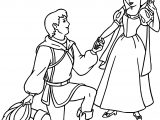 Snow White And The Prince Meeting Coloring Page