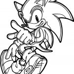Sonic The Hedgehog Dance Coloring Page