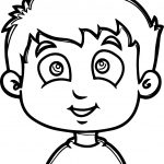 Sport Cartoon Boy Coloring Page