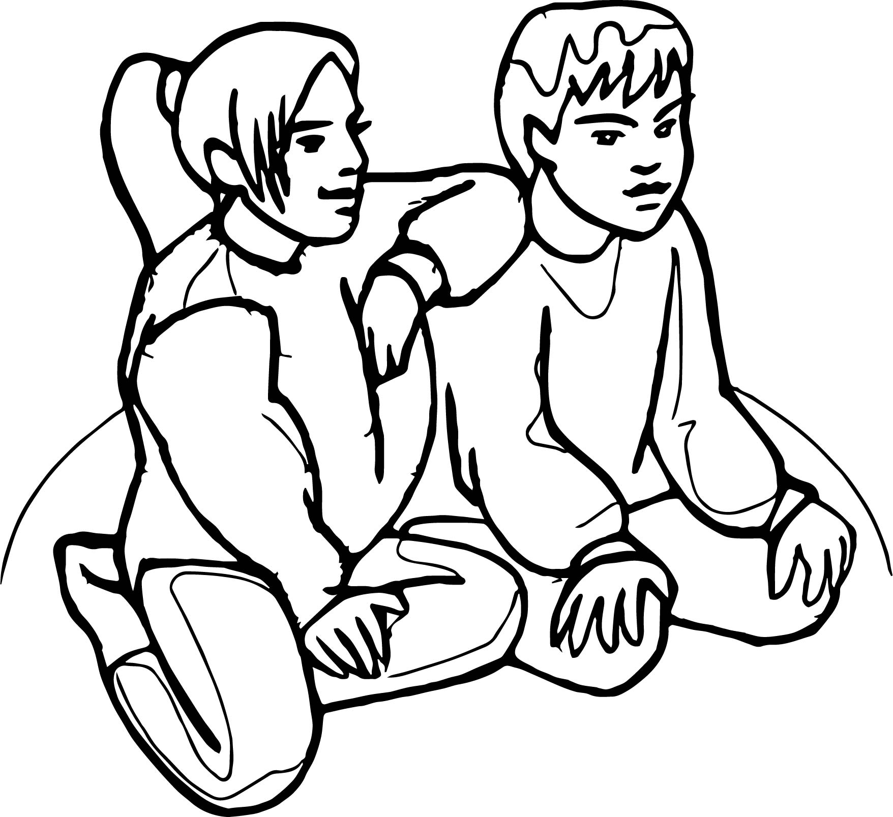 friendship coloring pages friends coloring page crayolacom