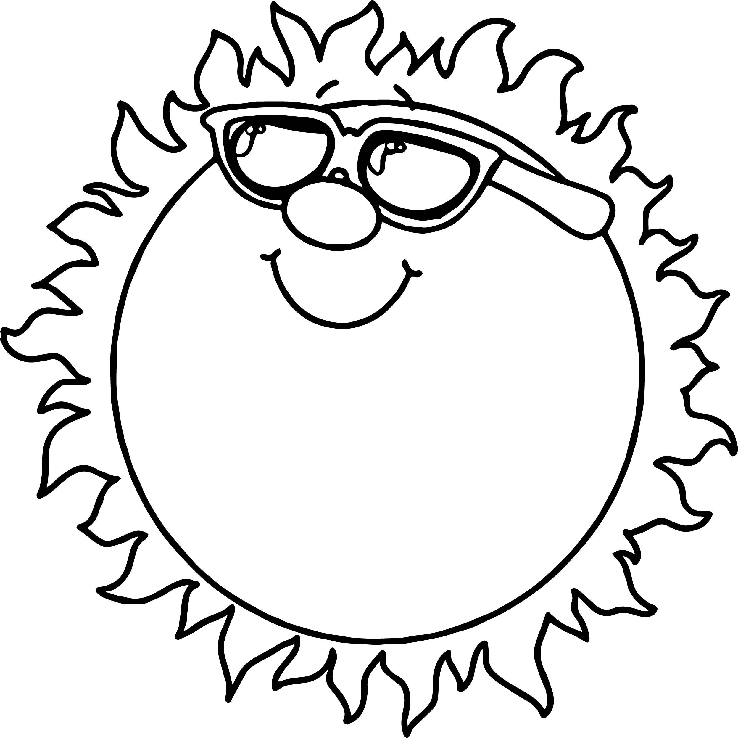 coloring pages suns - photo#28