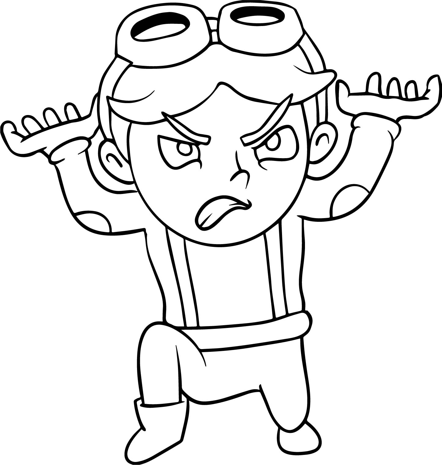 child superhero coloring pages - photo#12