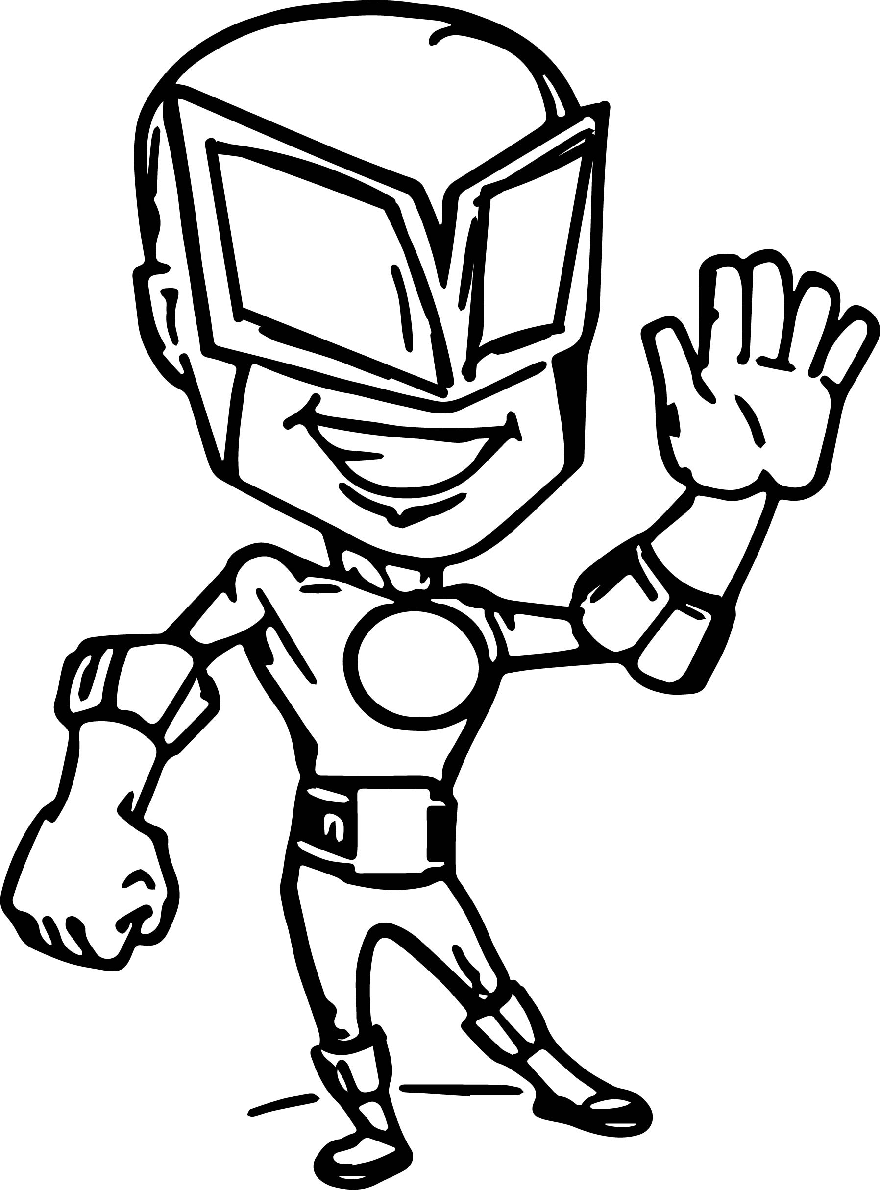 Superheroes Super Hero Bee Coloring Page