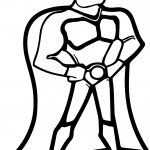 Superheroes Super Hero Power Man Coloring Page