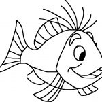 Swordin Stone Fish Coloring Page