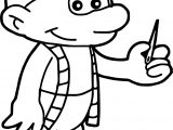 Tailor Smurf Needle Coloring Page