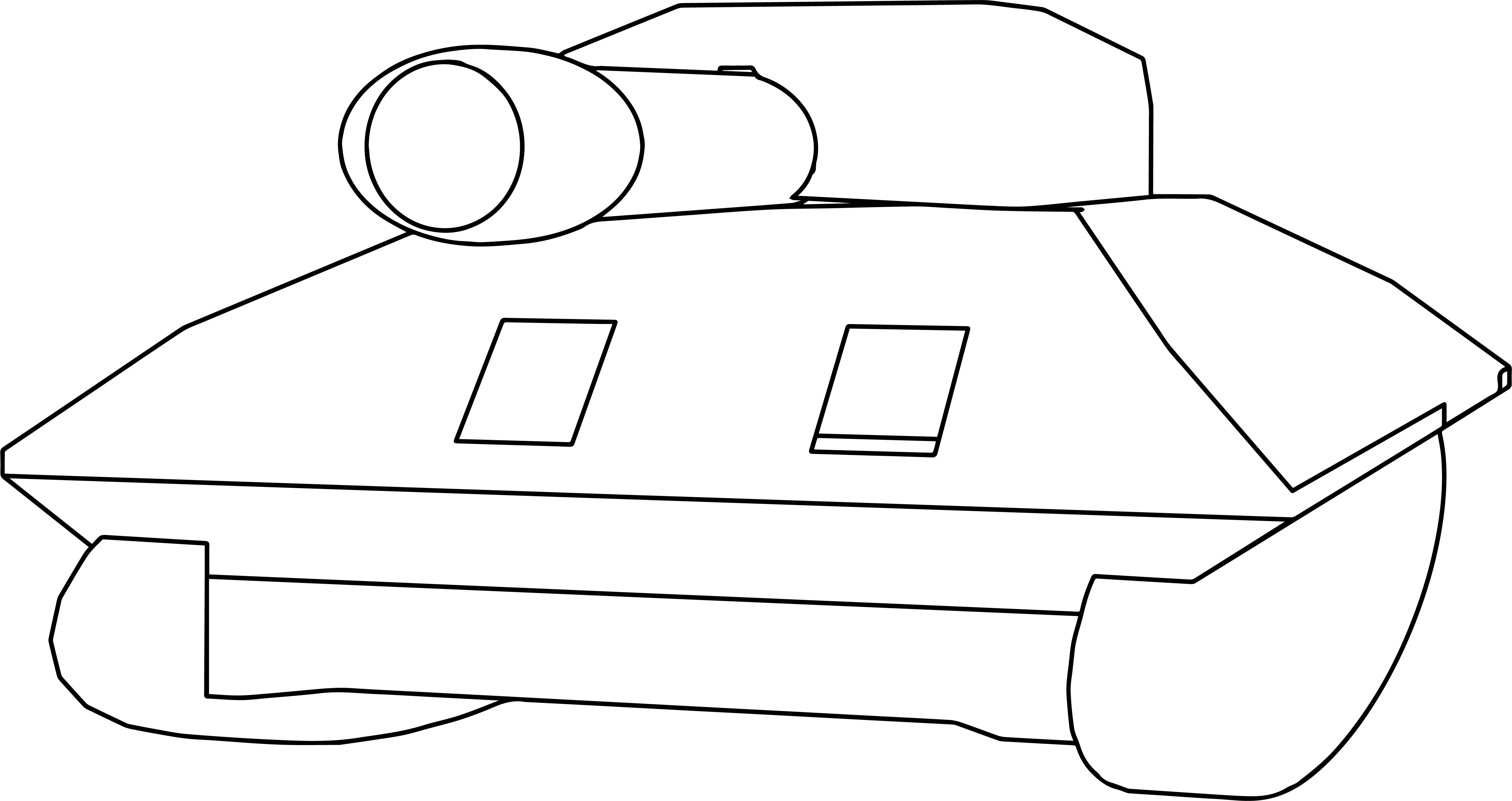 Tanque Coloring Page