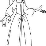 The Black Cauldron Princess Eilonwy Coloring Page
