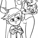 The Boss Baby Family Coloring Page