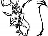 The Emperor New Groove Squirrel Disney Coloring Pages