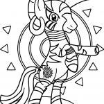 The Enchantress Zecora Coloring Page