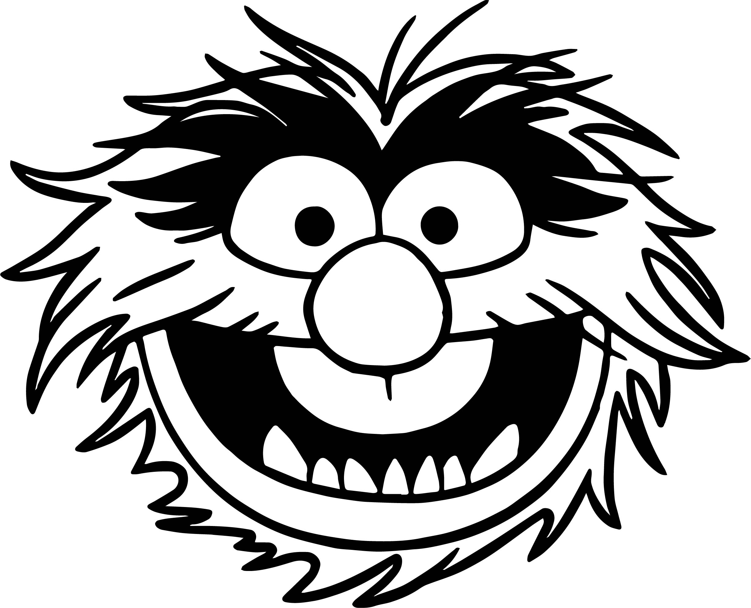 The Muppets Muppets Animal Coloring Pages Wecoloringpage