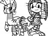 Tikal Zecora Amy Rose Wallpaper Coloring Page