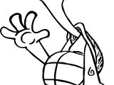 Tortoise Turtle Hello Coloring Page