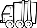 Toy Truck Car Coloring Page