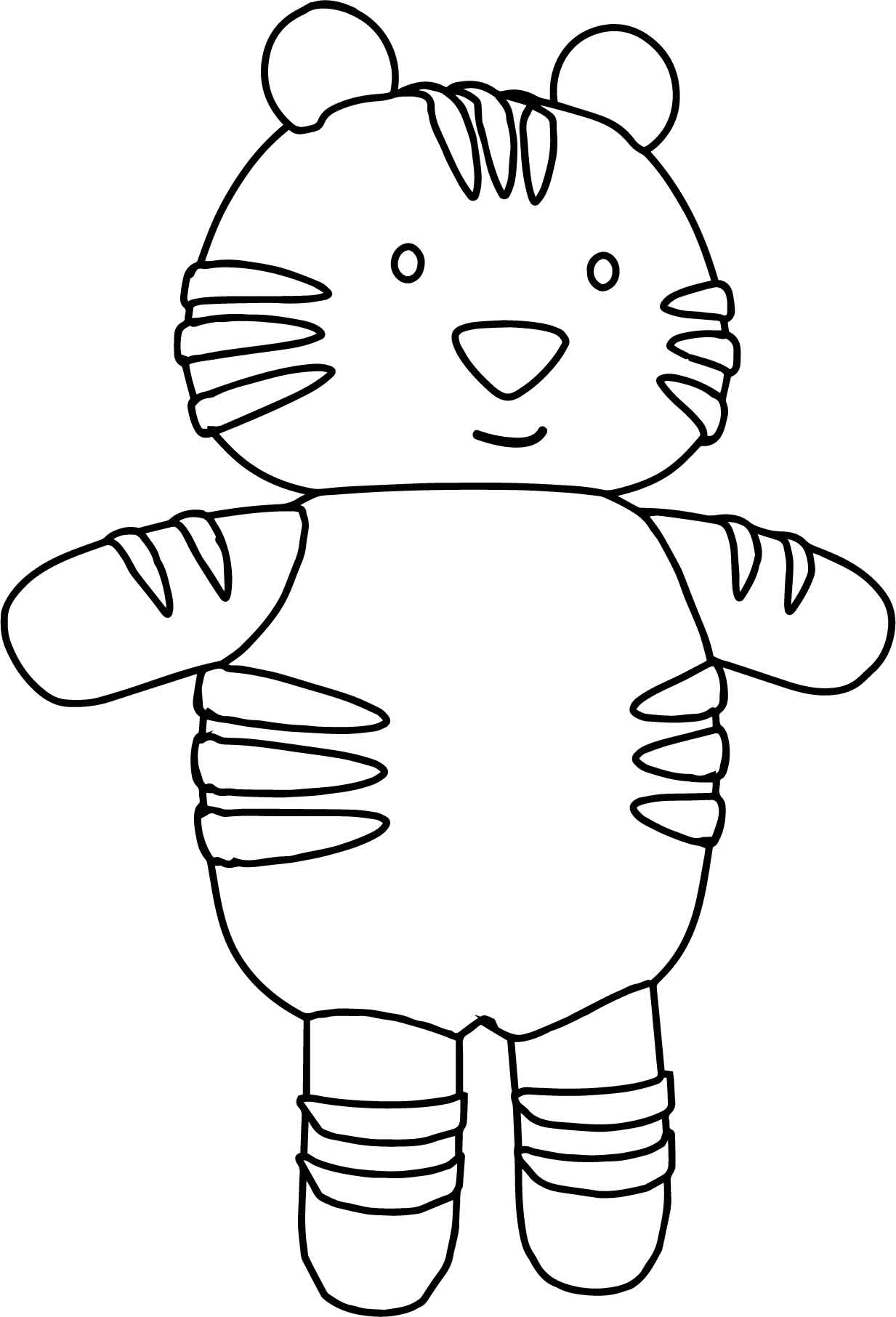 Toy Cuttle Pretty Amazing Cat Coloring Page