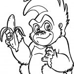 Trek Banana Coloring Page