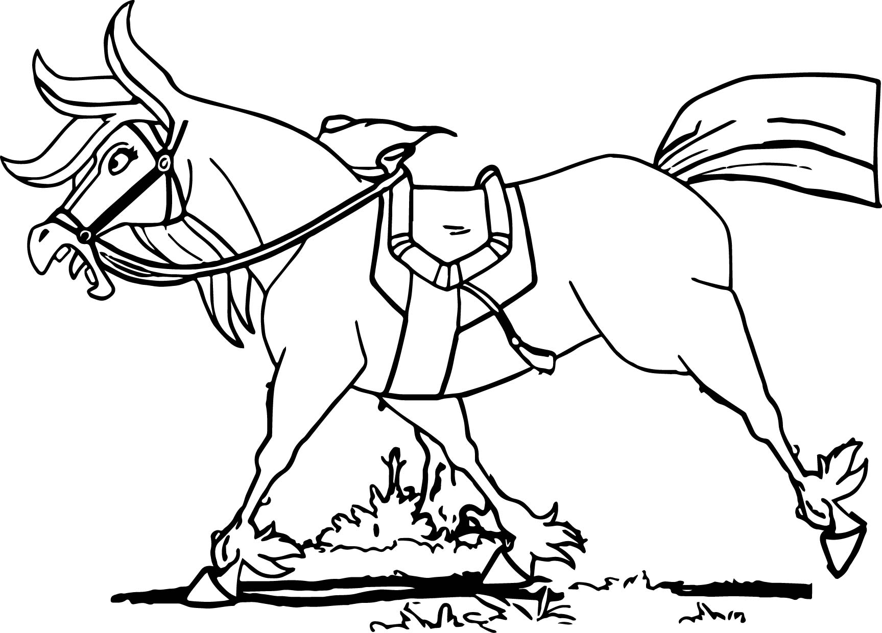 knight and horse coloring pages - photo#18
