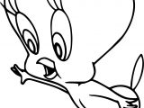 Tweety Hello Coloring Page