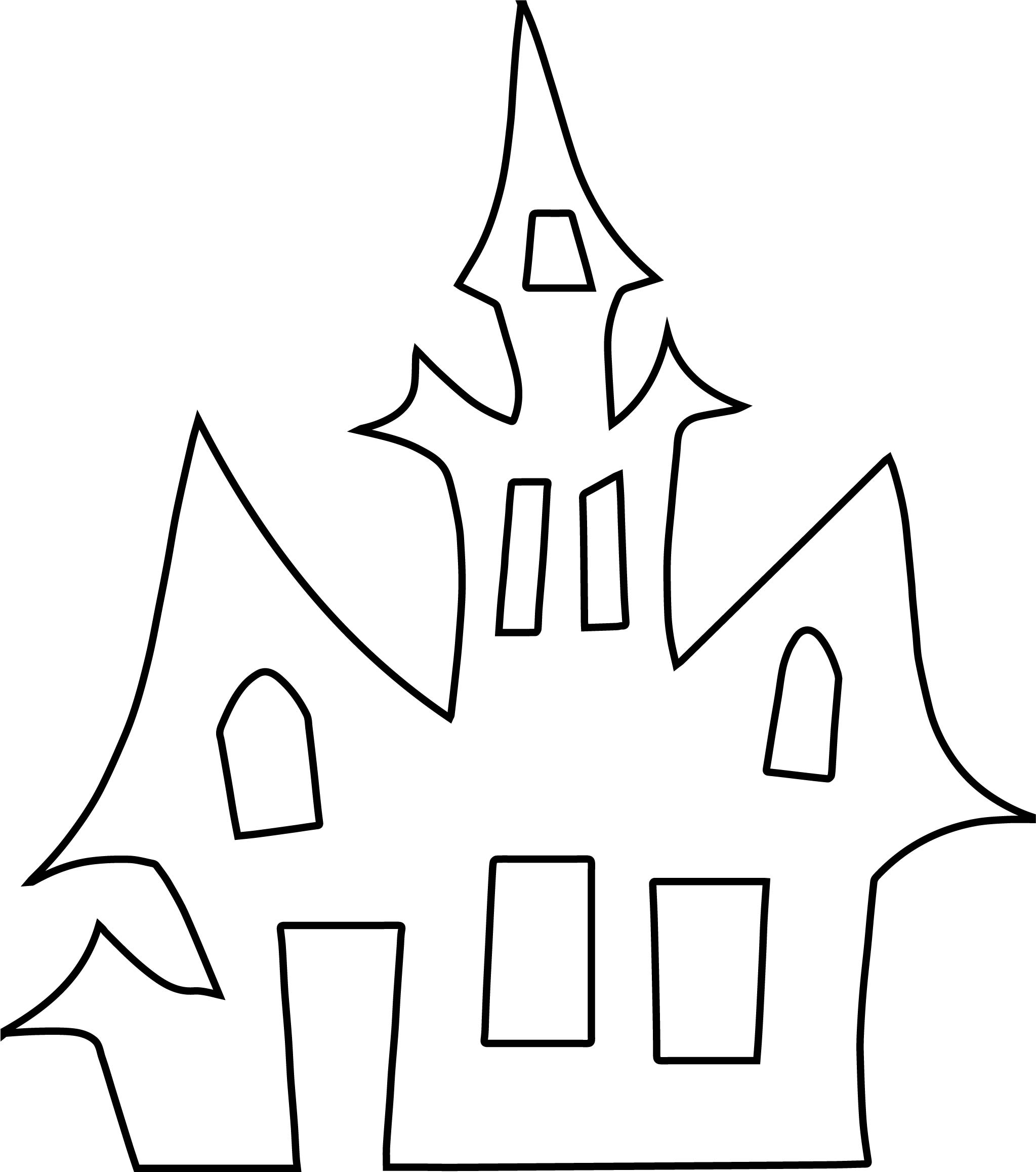 Vampire House Coloring Page