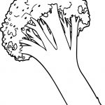 Vegetables Cauliflower Coloring Book Colouring Sheet Page