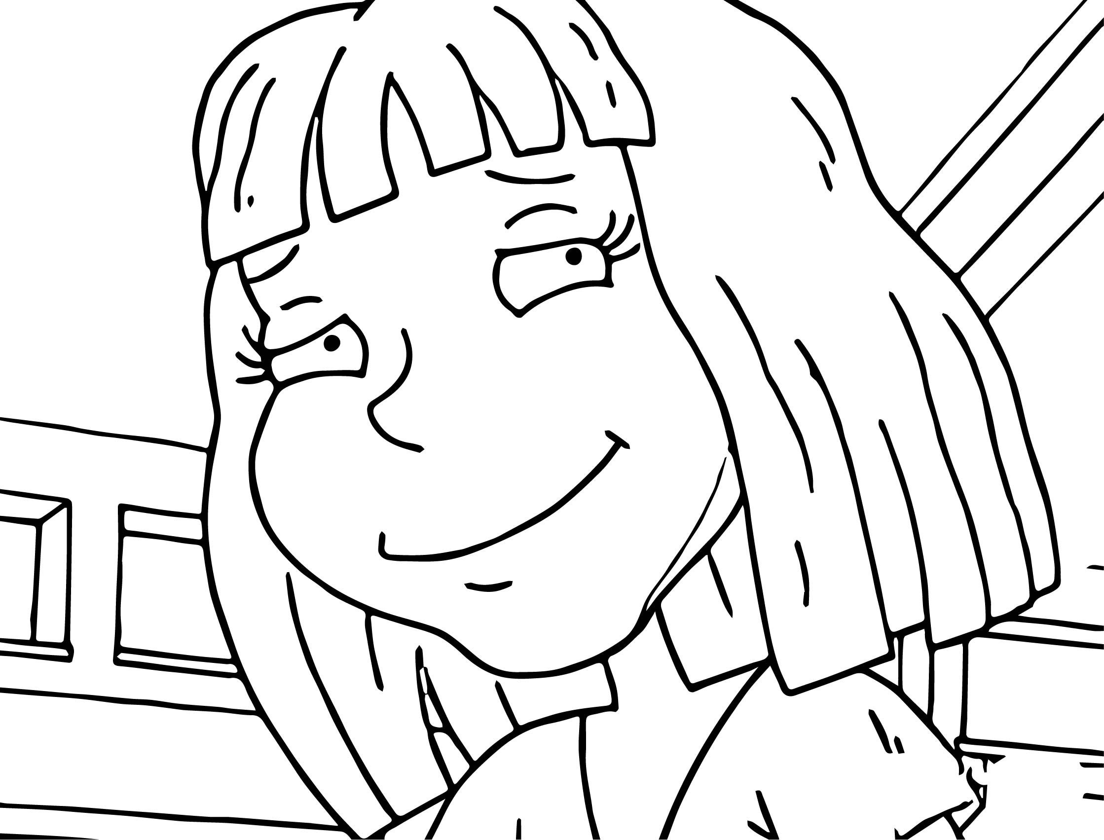 Wally Coloring Page