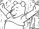 Winnie The Pooh I Woke Up Coloring Page