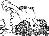 Winnie The Pooh Where Is Hunny Coloring Page