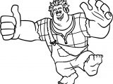 Wreck It Ralph Adventures Coloring Page