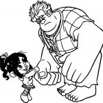 Wreck It Ralph Come Here Coloring Page