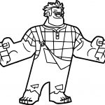 Wreck It Ralph I Am Here Coloring Page
