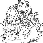 Wreck It Ralph Mud Coloring Page