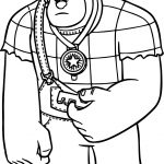 Wreck It Ralph Sorry Coloring Page