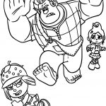Wreck It Ralph Taffyta Coloring Page