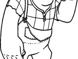 Wreck It Ralph Think Coloring Page