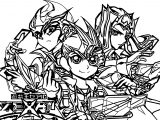 Yu Gi Oh Card War Coloring Page