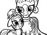Zecora And Aina Coloring Page