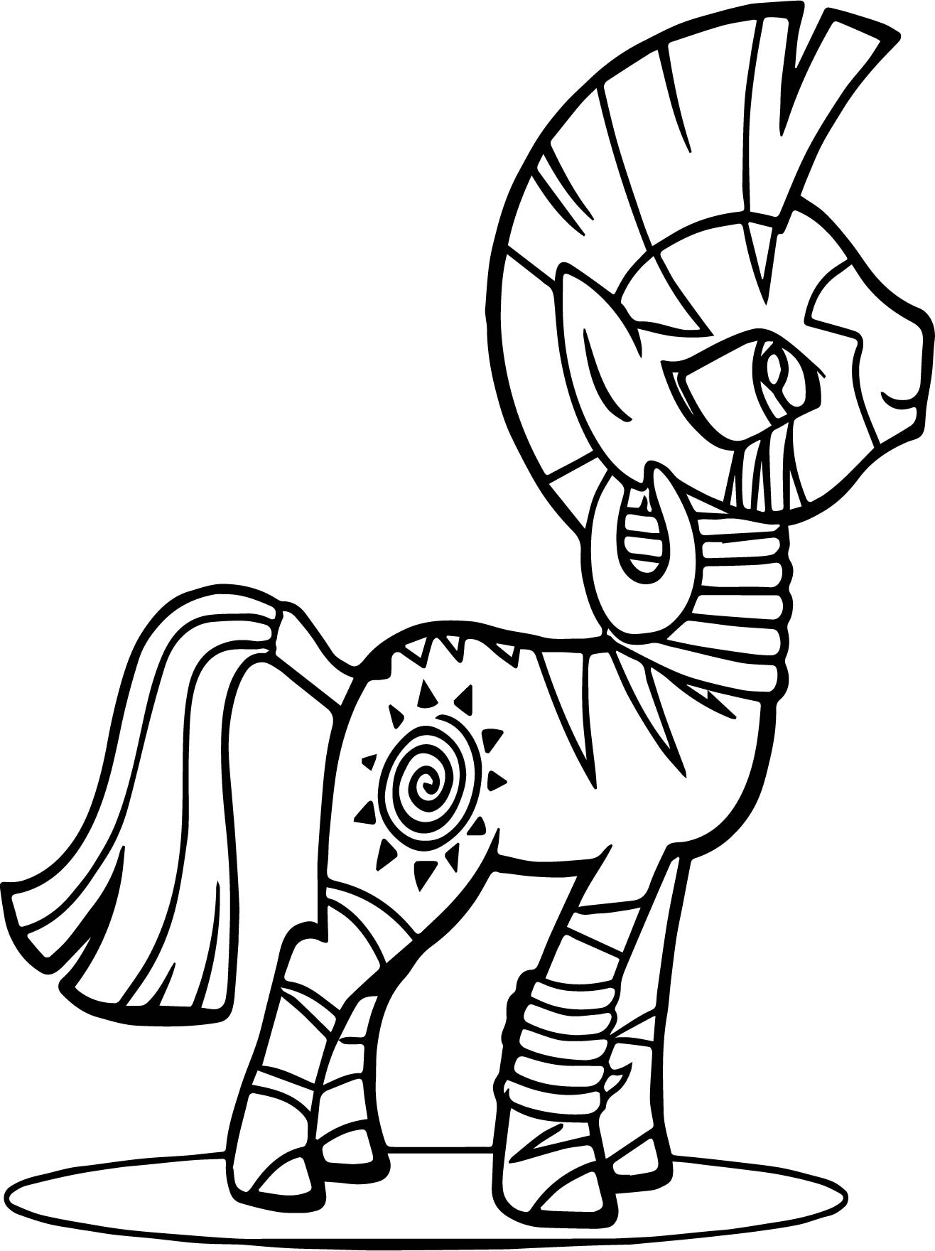 Zecora Re Coloring Page