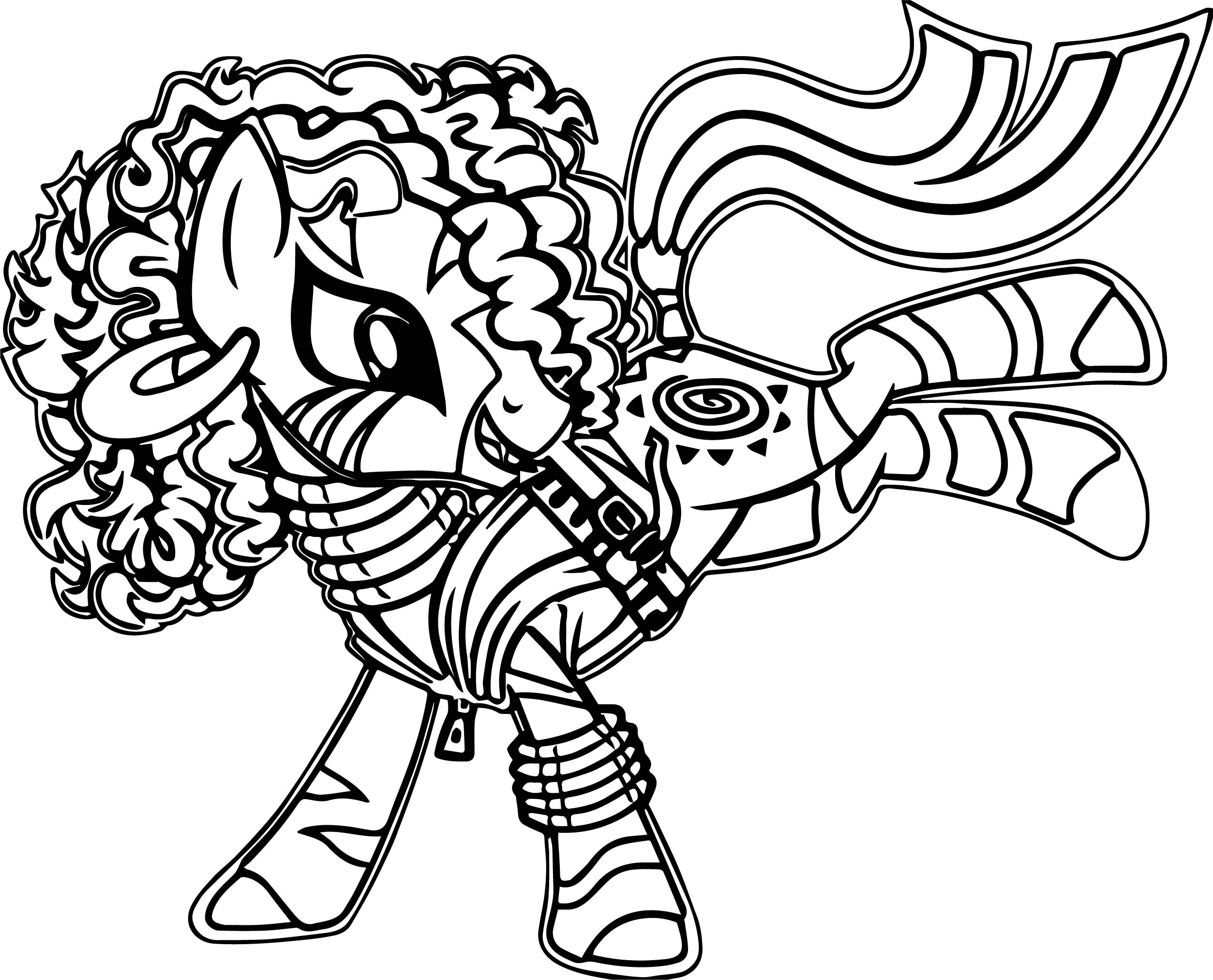 Zecora Song Coloring Page