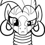 Zecora What Say Coloring Page