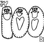 100 Day Unit Happy Coloring Page