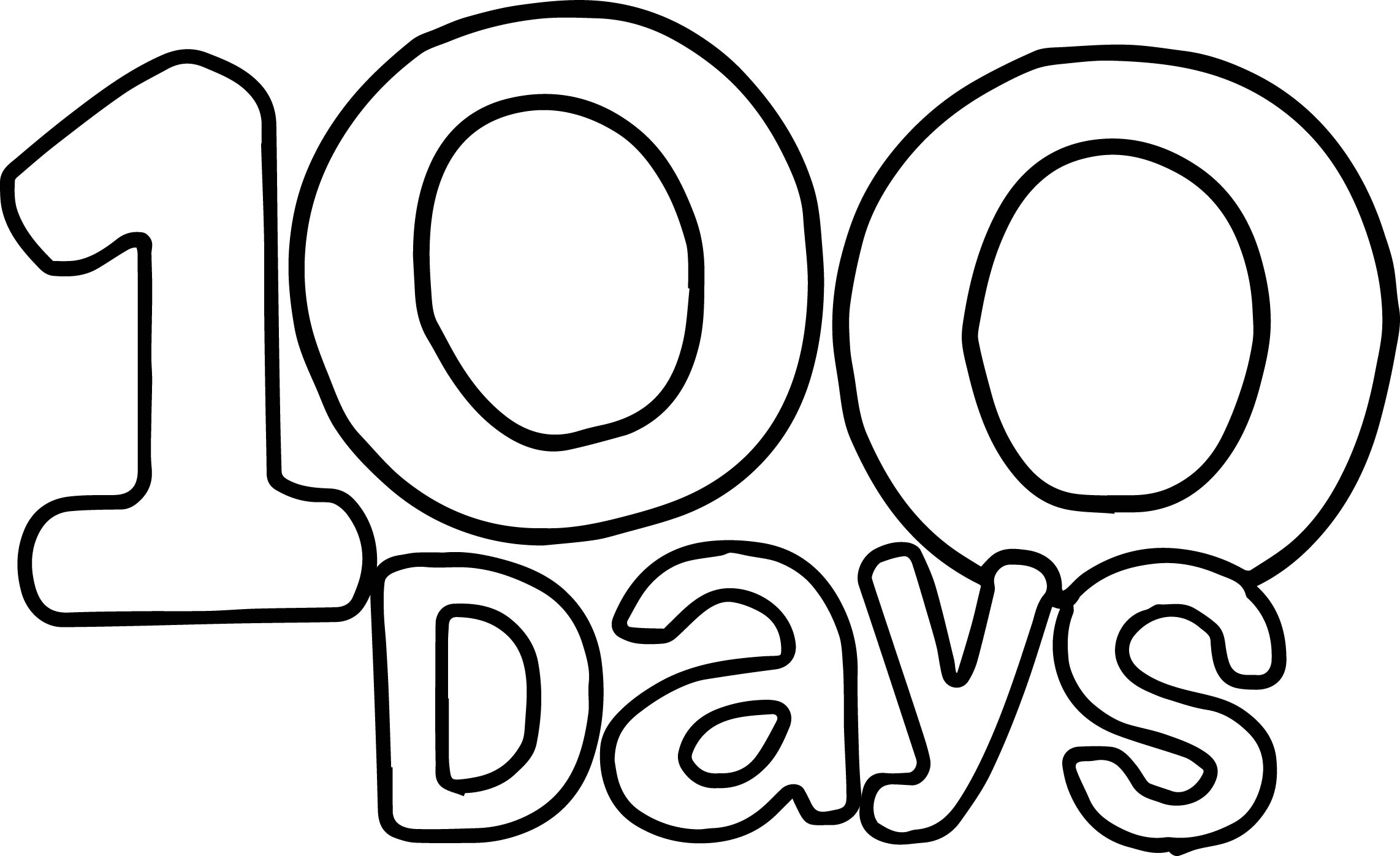 100 Days of School A Printable Book   Enchanted Learning
