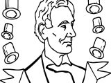 A Lincoln Picture Coloring Page