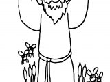 Abraham And Sarah Coloring Page