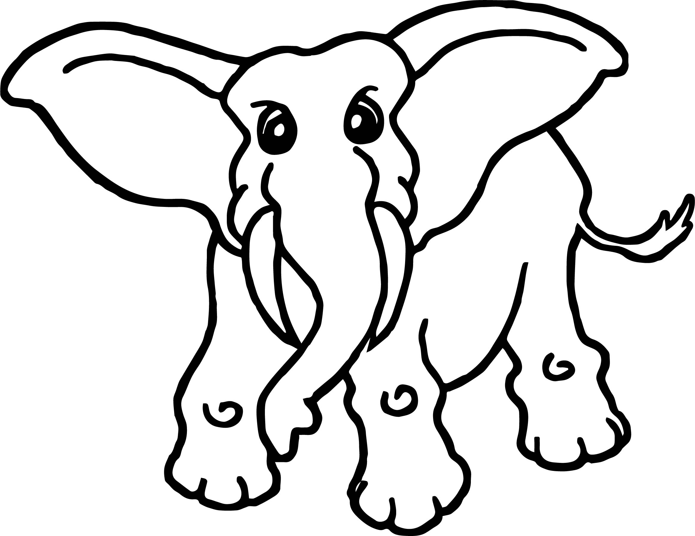 79 Coloring Page African Animals