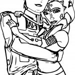 Ahsoka Tano Couple Coloring Page