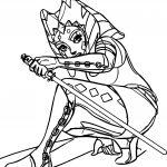 Ahsoka Tano Guard Coloring Page