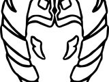 Ahsoka Tano Head Guard Coloring Page