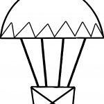 Air Balloon Small Coloring Page